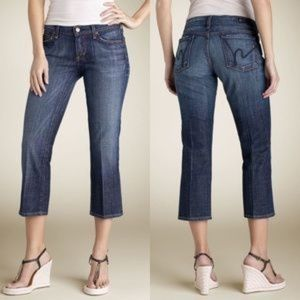 COH Kelly Stretch # 063 Low Waist Cropped Jeans